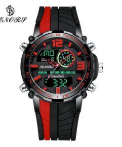 Montre Sport Homme Bracelet Silicone