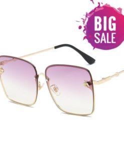 Luxe lunettes de soleil femmes