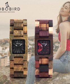 Montre Bois Femme Bobo Bird