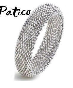 Bracelet Fine Maille Argent Véritable 925 Sterling
