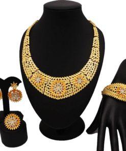 Ensemble Bijoux de Mariés - Style Dubaï