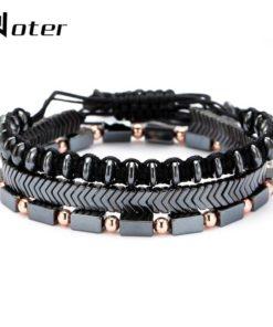 Bracelets 3 Rangs Pierre Naturelle