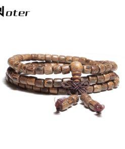 Véritable Bracelet Bois Tibétain pas cher