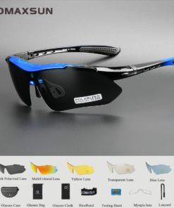 Lunettes Cyclisme Polarisées Professionnel UV 400 - TR90 5 couleur