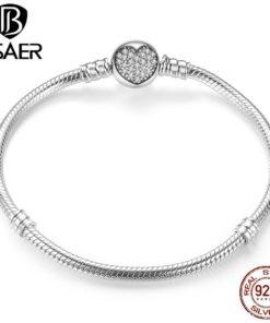 Bracelet Luxe Femmes Chaîne Serpent en Argent Véritable 925
