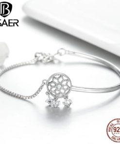 Bracelet Attrape Rêve Argent Pas Cher