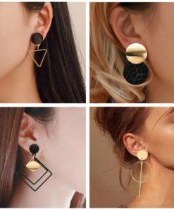 Bijoux : Boucle d'Oreille Design Coréen
