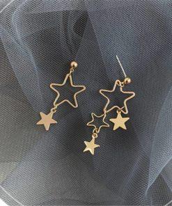 Boucle d'Oreille Bijoux Étoile