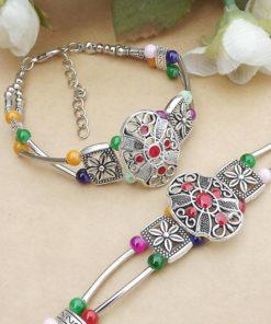 Bracelet Tibétain Turquois