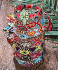 Bracelet Brésilien Boho Multicolore