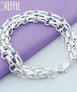 Modèle de bracelet en argent
